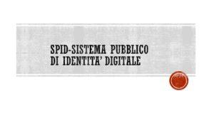 spid-sistema pubblico